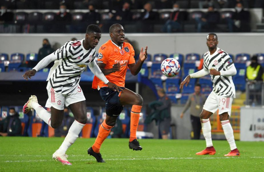 Demba Ba a fost decisiv în Istanbul Basaksehir - Manchester United 2-1 // foto: Guliver/gettyimages