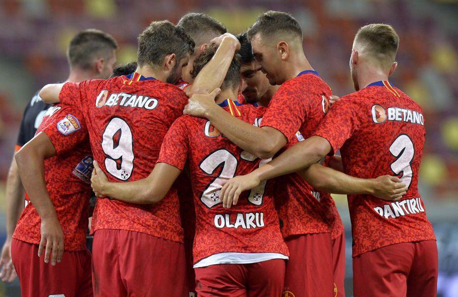 Darius Olaru a ajuns om de bază la FCSB. foto: Gazeta Sporturilor