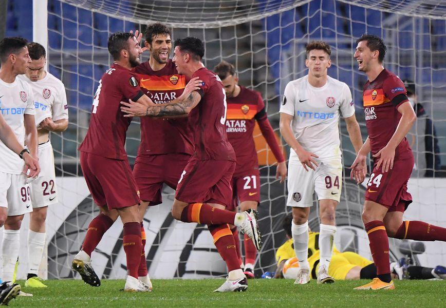 AS Roma - CFR Cluj, europa League - 05.11.2020 - FOTO: Reuters