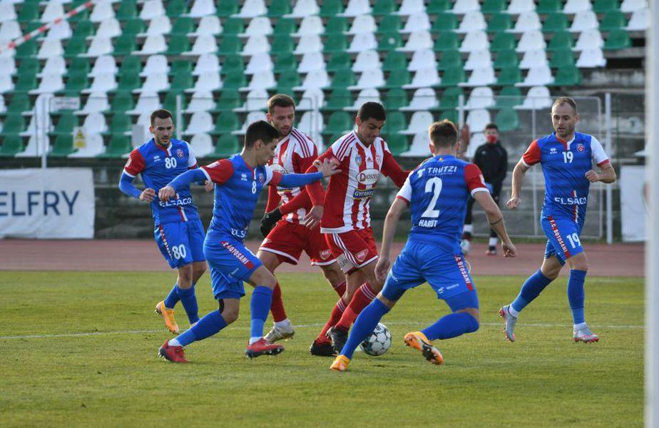 FC Botoșani și Sepsi au remizat, scor 2-2, în runda cu numărul 12 din Liga 1.