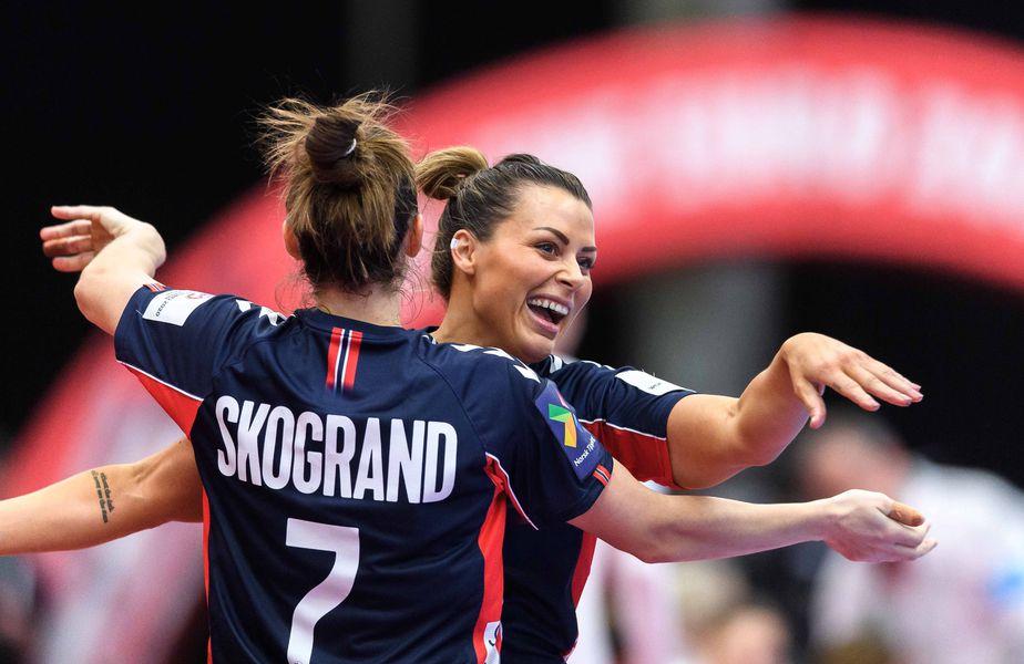 Norvegia, adversara României de luni, a spulberat Germania, scor 42-23, în al doilea meci al grupei de la Campionatul European de handbal feminin.   FOTO: Imago-images