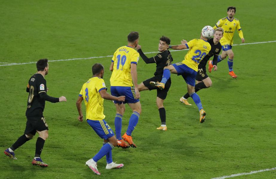 Cadiz - Barcelona 2-1