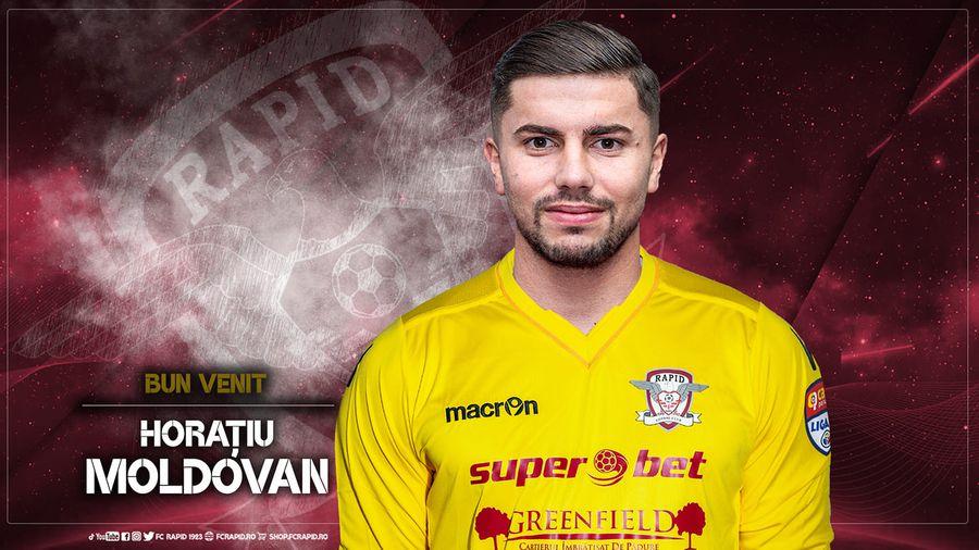 Horațiu Moldovan // FOTO: facebook.com/FCRapid1923oficial