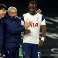 Jose Mourinho alături de Heung-Min Son și Moussa Sissoko FOTO Imago