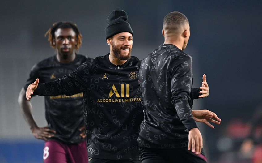 Neymar îmbrăcat în echipament Jordan FOTO Gulliver/Gettyimages