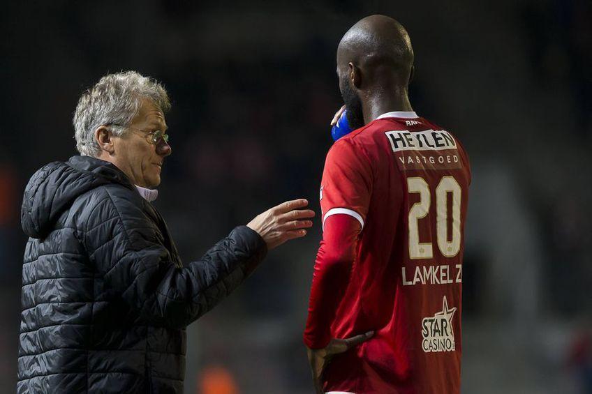 Didier Lamkel Ze(24 de ani), fostul elev al lui Ladislau Boloni de la Antwerp, și-a cerut scuze suporterilor belgieni, după ce marți a venit la antrenamentul echipei sale îmbrăcat în tricoul rivalilor de laAnderlecht