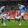 Manchester City a învins-o pe Manchester United, sco 2-0, în a doua semifinală din Cupa Ligii Angliei @Getty