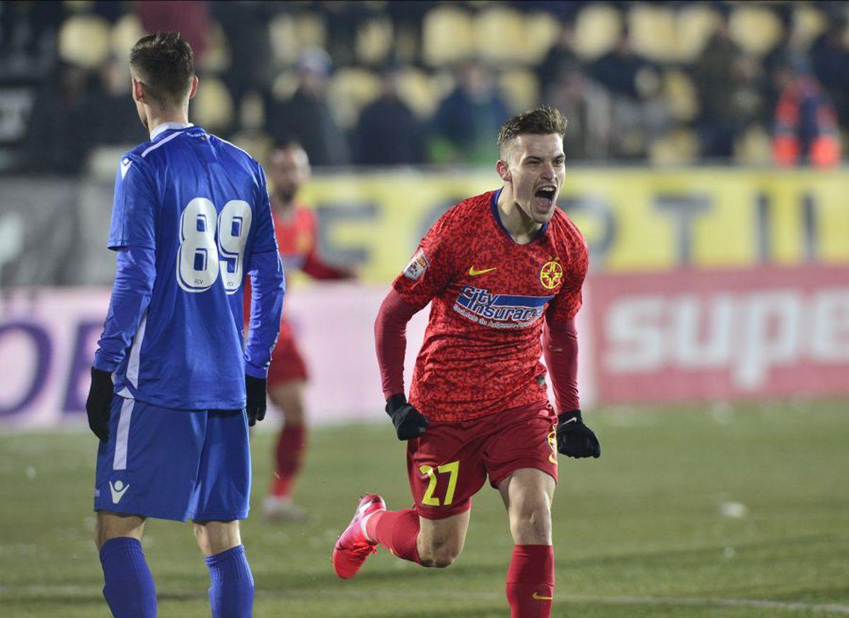 FC VOLUNTARI - FCSB 1-2 // VIDEO + FOTO Olaru și Coman duc formația lui Vintilă pe locul secund în Liga 1! Cum arată ACUM clasamentul