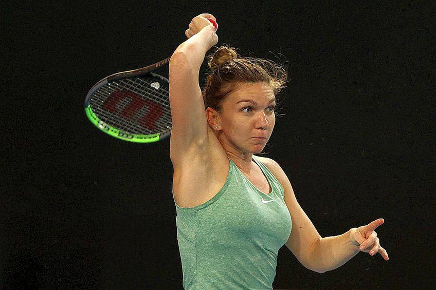 Simona Halep (29 de ani, 2 WTA) se pregătește de Australian Open //FOTO: Guliver/GettyImages