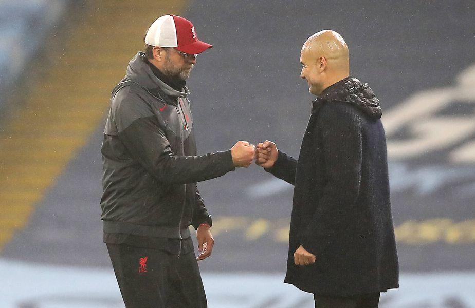 Jurgen Klopp (53 de ani) și Pep Guardiola (50 de ani)