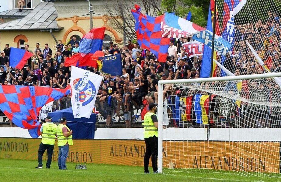 Suporterii Stelei doresc cu orice preț promovarea în Liga 2
