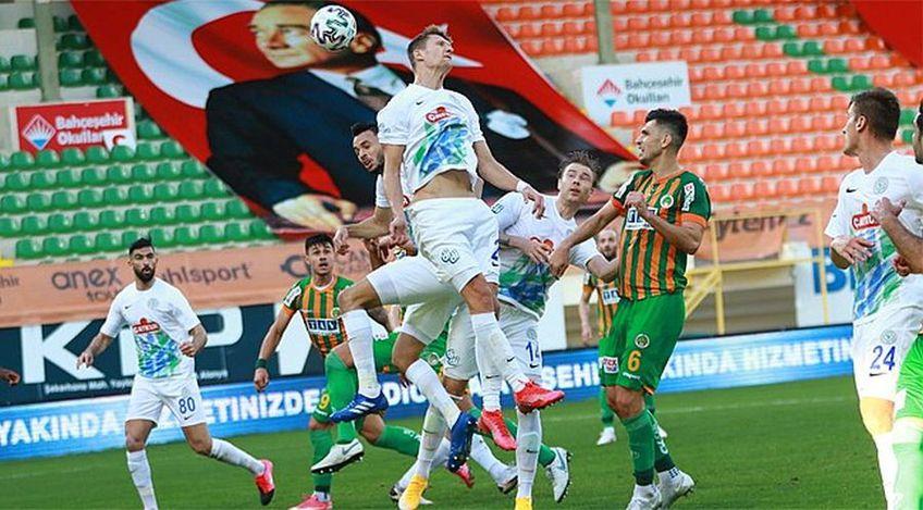 Alanyaspor - Rizespor 2-1. Înfrângere dramatică pentru echipa antrenată de Șumudică