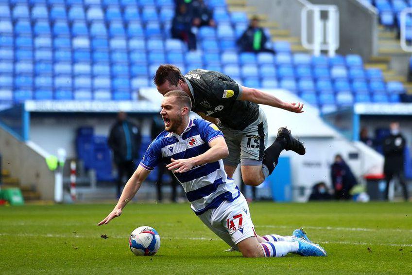 George Pușcaș a obținut penalty-ul prin care Reading a dus scorul la 1-0 // foto: Guliver/gettyimages
