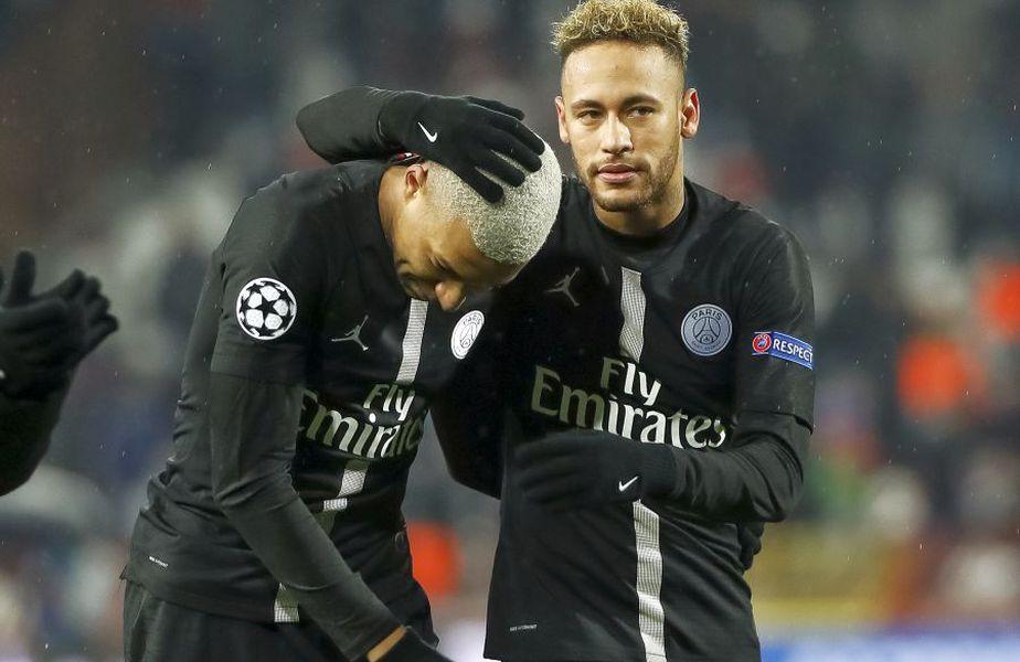 Neymar și Mbappe vor rămâne la PSG și din vară. foto: Guliver/Getty Images