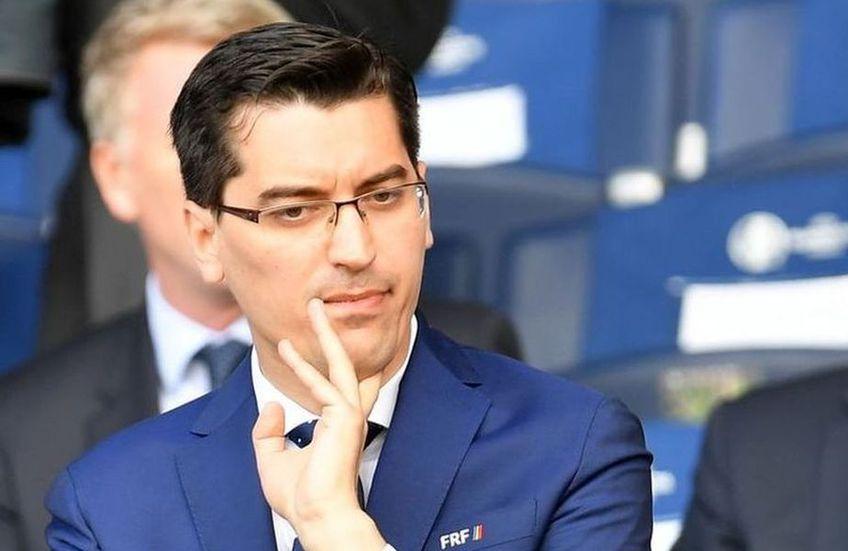 Răzvan Burleanu (foto) este președintele FRF din martie 2014