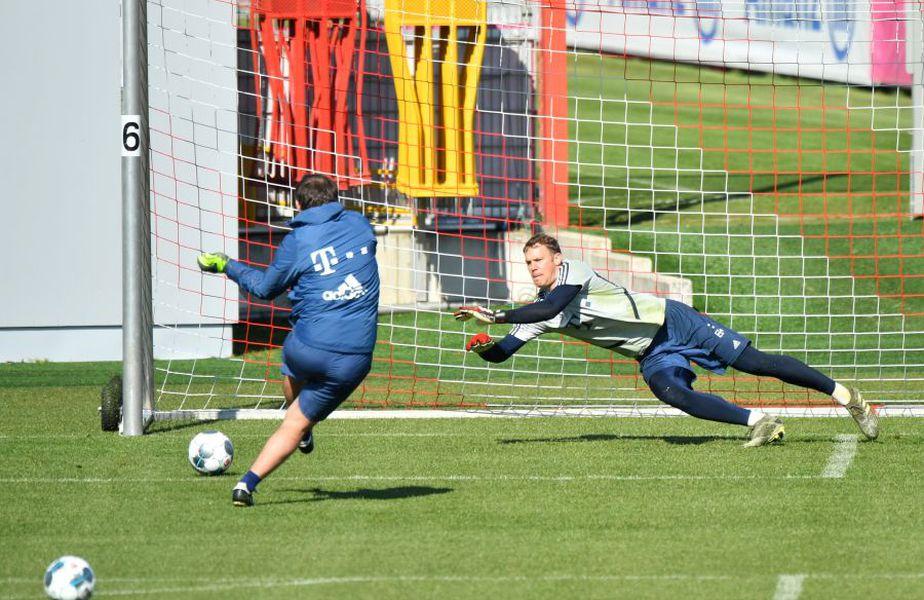 Bayern Munchen a revenit la antrenamente // Sursă foto: Getty