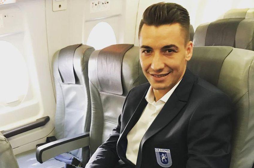 Alexandru Mateiu, mijlocaș CS U Craiova // sursă foto: Instagram @mateiualexandru