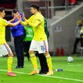 Adrian Petre și George Ganea, cei doi atacanți ai României U21 de la Campionatul European // foto: Imago
