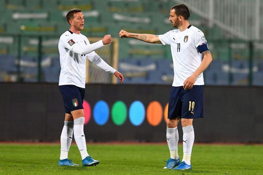 Bernardeschi și Bonucci au avut amândoi Covid-19 // Foto: Getty Images