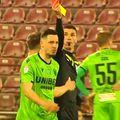 """Marcel Bîrsan (39 de ani), """"centralul"""" partidei CFR Cluj - Dinamo, scor 1-0, a mers la poliție imediat după meci, speriat de amenințările primite din partea fanilor bucureșteni."""