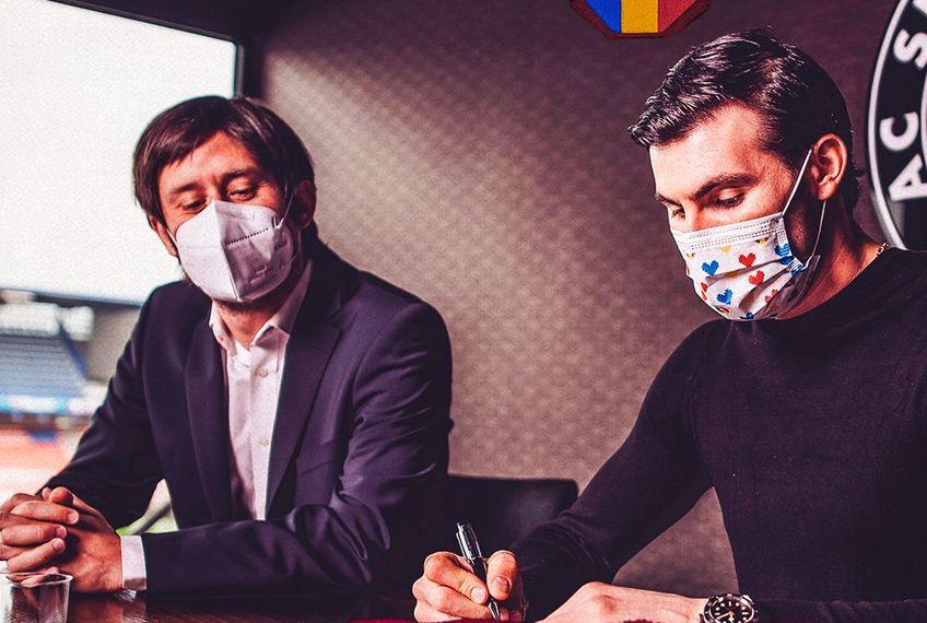 Florin Niță (33 de ani) a semnat prelungirea contractului cu Sparta Praga, până în vara anului 2023