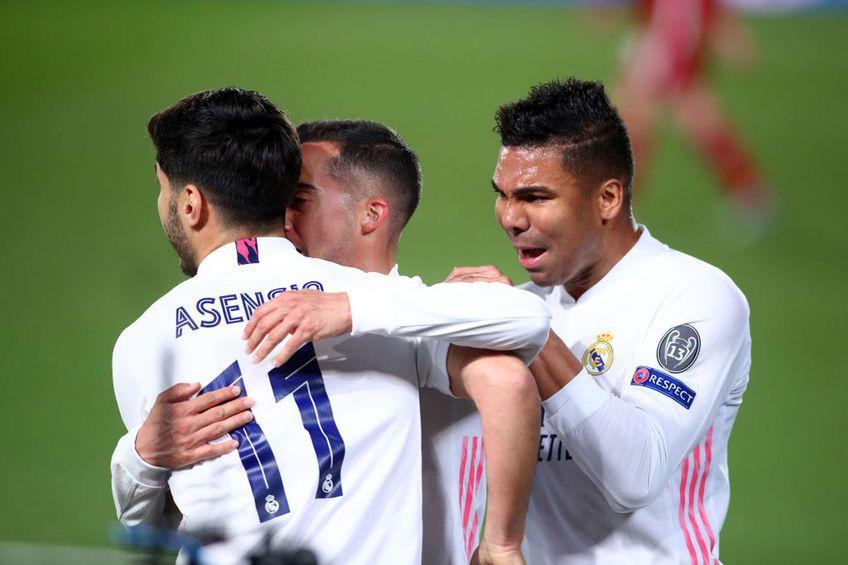 """Real Madrid a învins-o pe Liverpool, scor 3-1, în manșa tur a """"sferturilor"""" din Liga Campionilor și e marea favorită la calificarea în semifinale."""