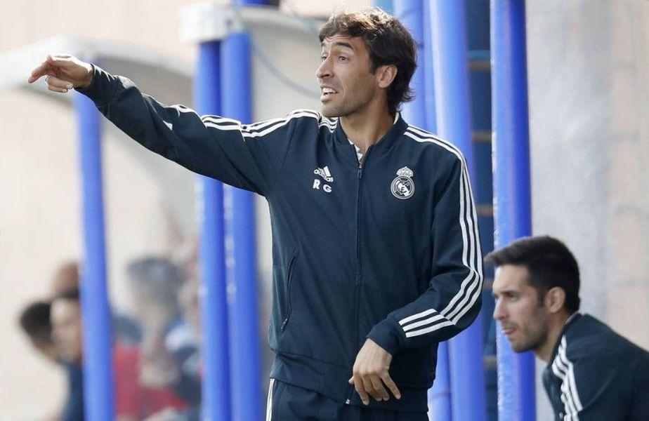 Raul, antrenorul celor de la Real Madrid Castilla
