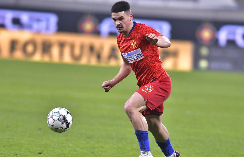 Alex Buziuc revine în echipa lui FCSB după aproape 3 luni