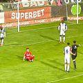 Darius Olaru a obținut ușor un penalty în minutul 72 al meciului dintre FC Botoșani și FCSB, la scorul de 1-2.