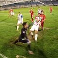 În minutul 82 al meciului FC Botoșani - FCSB (runda #6 a play-off-ului din Liga 1), la scorul de 3-1 pentru oaspeți, Andrei Vlad a avut o intervenție salvatoare.