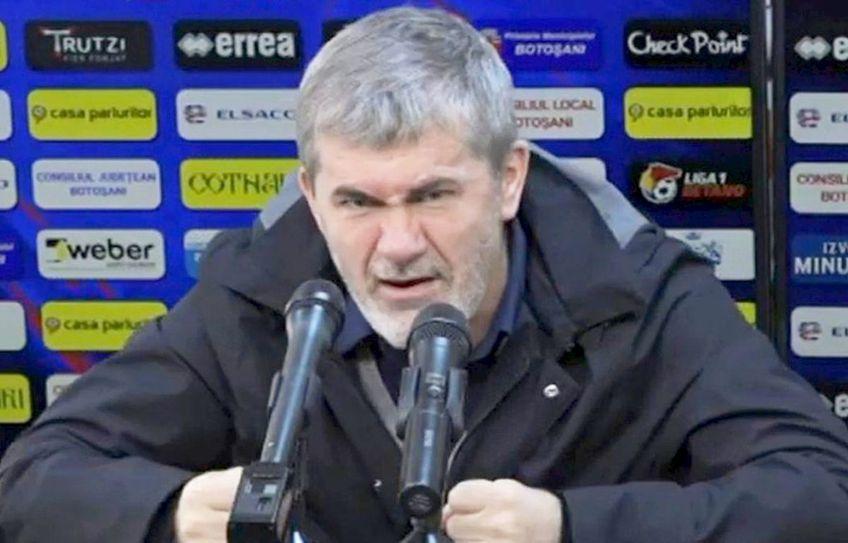 Valeriu Iftime, patronul celor de la FC Botoșani, dă vina pe arbitrajul lui Adrian Cojocaru, pentru eșecul cu FCSB, scor 1-3.