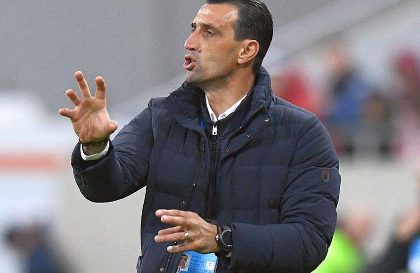 Bogdan Vintilă e la primul sezon pe banca FCSB-ului