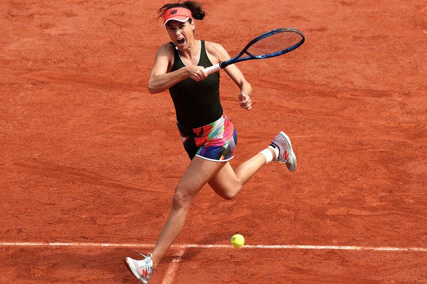 Sorana Cîrstea, la Roland Garros // foto: Guliver/GettyImages
