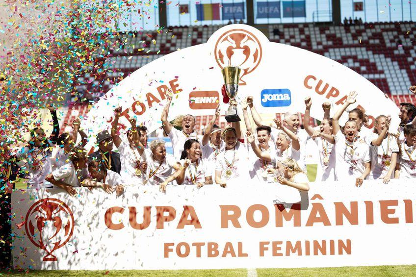 Olimpia Cluj a câștigat Cupa României. Sursă foto: Alexandra Fechete
