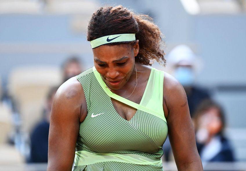 Serena Williams (39 de ani, nr 8 WTA) a fost eliminată de la Roland Garros în optimi