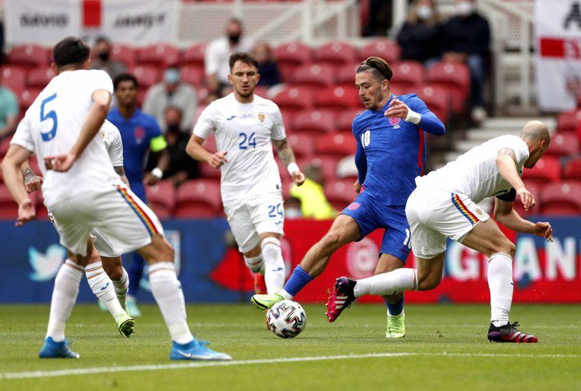 România a cedat în fața Angliei, scor 0-1. Sursă foto: ImagoImages