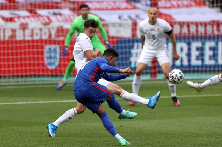Anglia - România 1-0. Sursă foto: twitter.com/england