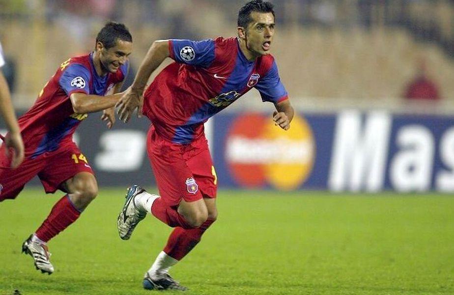 Nicolae Dică, în meciul Dinamo Kiev - Steaua 1-4