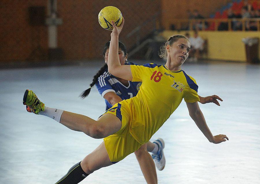 Dana în tricoul echipei naționale