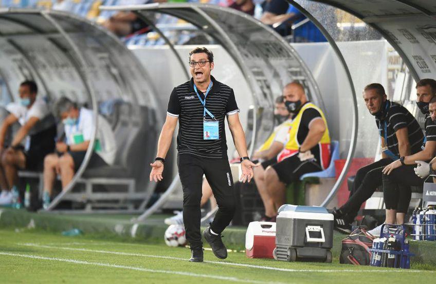 Mihai Teja, antrenor FC Voluntari FOTO: Raed Krishan
