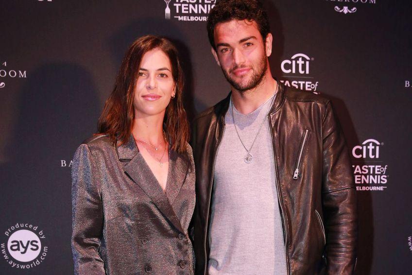 Ajla Tomljanovic și Matteo Berrettini / foto: Guliver/Getty Images