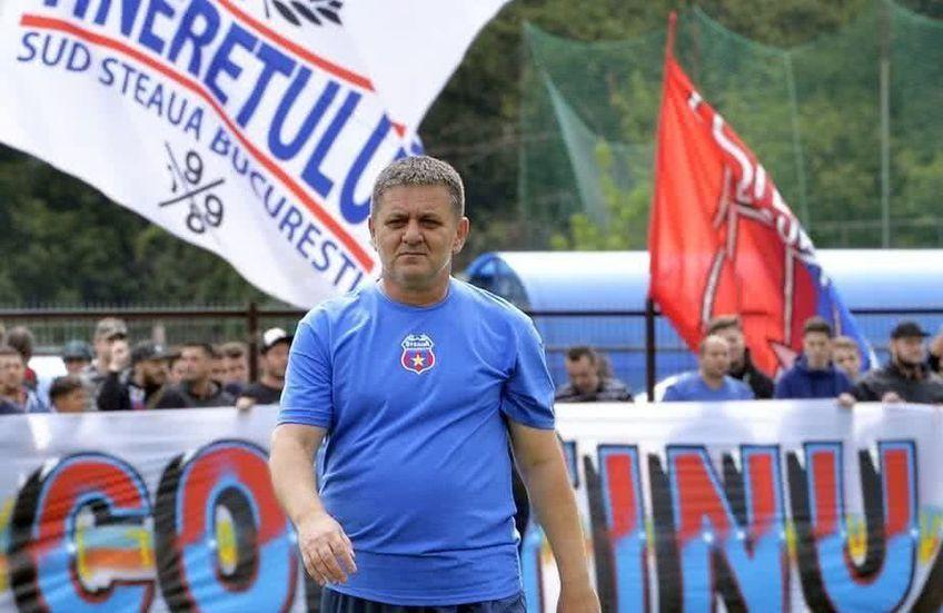 CSA Steaua retrage numărul 7, făcut celebru de Marius Lăcătuș!