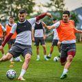 Rapid a pierdut meciul amical cu Gaz Metan, scor 1-2 // foto: Facebook