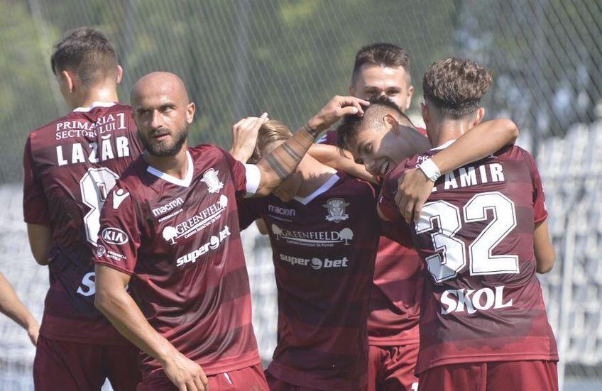 Rapid a ratat în acest sezon promovarea în Liga 1