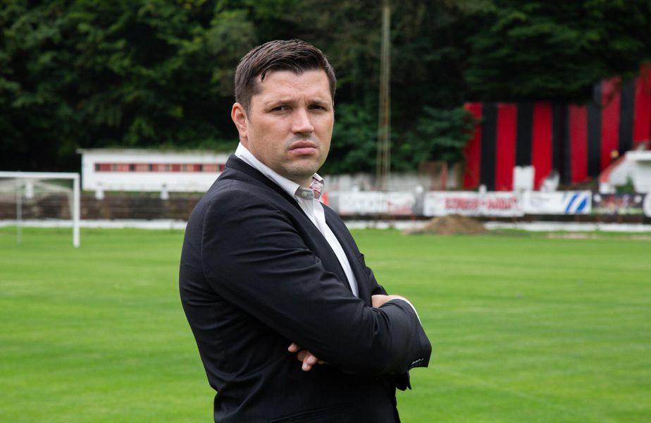 Cristi Bobar, președinte CSM Reșița