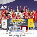 CSM București a pierdut finala Cupei României, fiind învinsă de rivala SCM Râmnicu Vâlcea, scor 19-22. Sursă foto: Facebook SCM Râmnicu Vâlcea