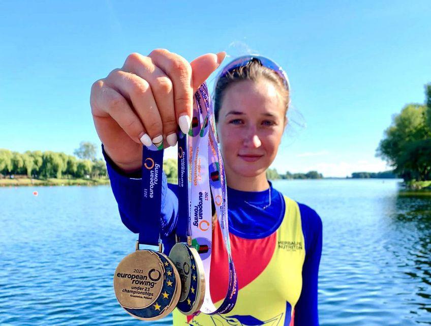 După Jocurile Olimpice, Simona Radișa luat două medalii de aur și la Europenele de tineret