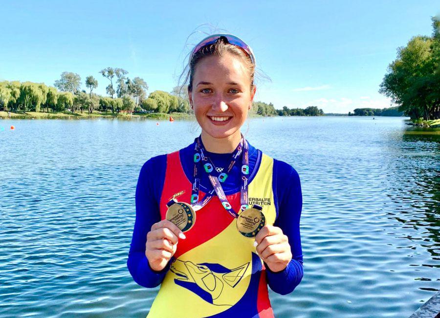 """După Jocurile Olimpice, Simona Radiș a luat două medalii de aur și la Europenele de tineret: """"A fost un test de mândrie pentru mine!"""""""