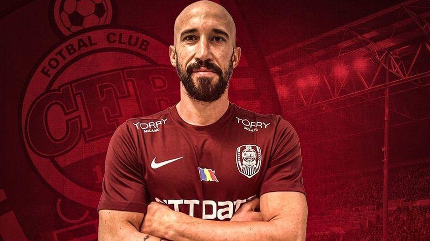 Iasmin Latovlevici s-a întors în Liga 1 și va evolua pentru CFR Cluj