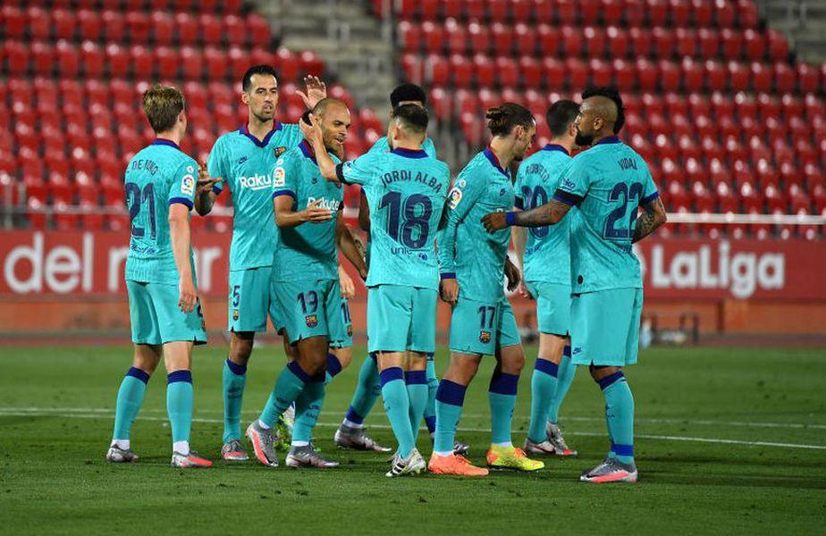 """Barcelona a prezentat numerele jucătorilor pentru următorul sezon, iar toți ochii au fost pe tricoul """"9"""", care i-a revenit, în mod surprinzător, lui Martin Braithwaite (29 de ani, atacant)."""